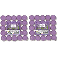 Price's Candles - Velas de té aromáticas de Lavanda Aladino (50 Unidades) - 021937D