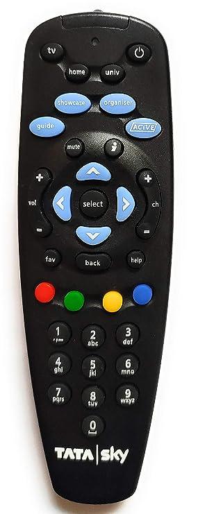 JusCliq trade; TATASKY Digital TV HD Setup Box Universal Remote Controller Learning Capability