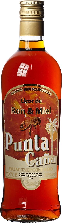 punta Cana Ron y miel licor (1 x 0,7 l): Amazon.es ...
