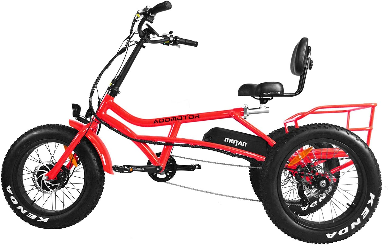 Addmotor Motan 750 W Electric Tricycle