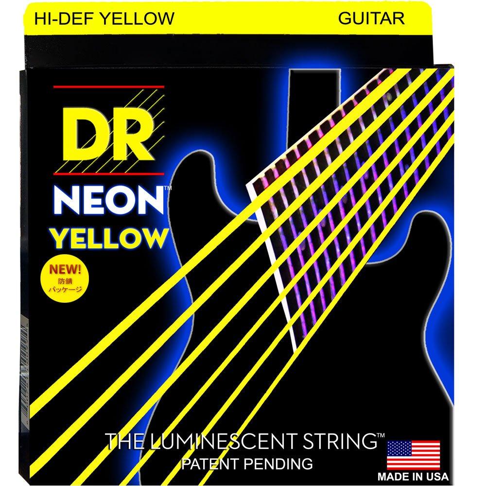 割引価格 DR NEON LITE NEON Hi-Def YELLOW NYE-9 LITE エレキギター弦×6セット DR B008IY4BI2, リードストア:055d5ecf --- martinemoeykens.com