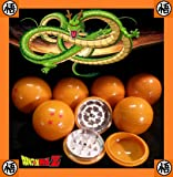 """Four Star Dragon Ball Z Herb Spice Plastic And Metal Grinder - Three Piece - 2.25"""""""