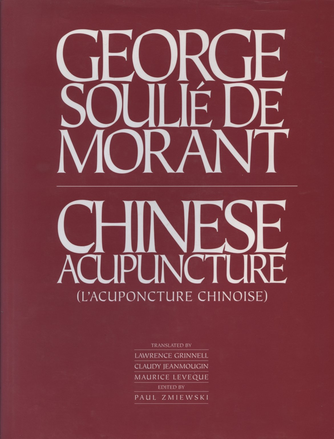 Chinese Acupuncture and Moxibustion (Italian) Hardcover – 1987