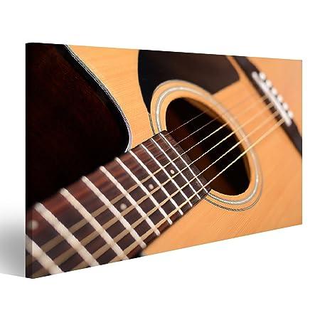 islandburner Cuadro Cuadros Guitarra acústica con Poca Profundidad ...