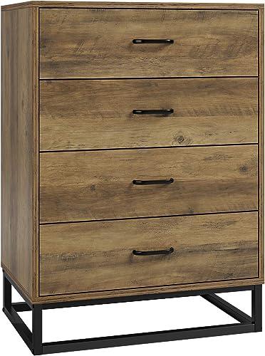 HOMECHO 4 Drawer Dresser