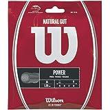 Wilson(ウイルソン) テニス ストリング ガット 錦織圭使用 NATURAL GUT 16 (ナチュラルガット16) [単張り] WRZ999800