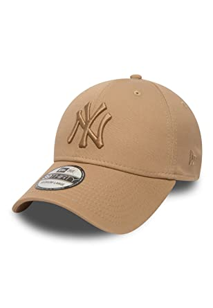 Gorra New Era - 39Thirty Mlb New York Yankees League Esntl crema ...