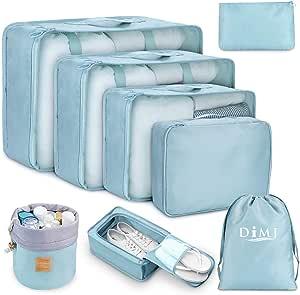 Space Saving Travel Packing Cubes Suitcase Luggage Backpack Organization Pukkr