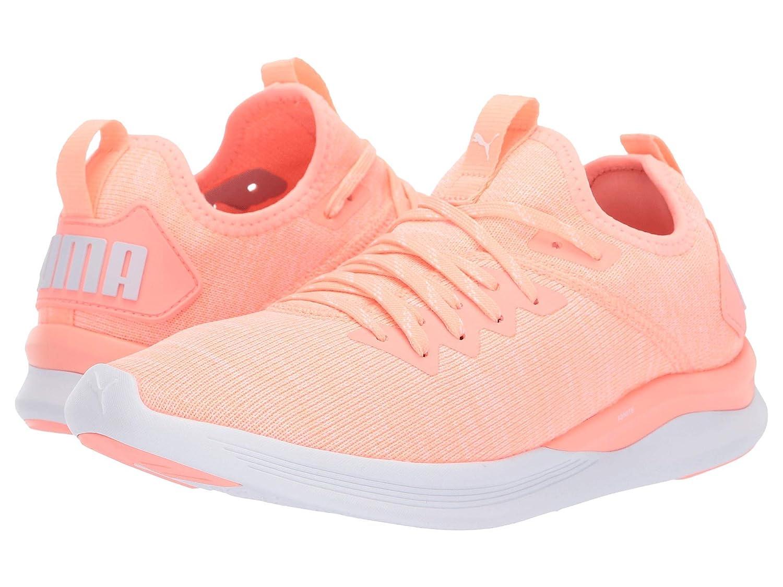 人気カラーの [プーマ] 6.5 レディースランニングシューズスニーカー靴 Ignite Flash evoKNIT [並行輸入品] (23cm) Medium B07N8FR427 Bright Peach/Puma White 6.5 (23cm) B - Medium 6.5 (23cm) B - Medium|Bright Peach/Puma White, 踊り祭りの浅草:042e3d9e --- senas.4x4.lt