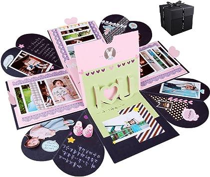 UUOUU - Álbum de fotos creativo para manualidades, caja de regalo ...