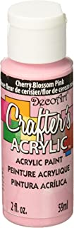 product image for DecoArt Crafter's Acrylic Paint, 2-Ounce, Cherry Blossom Pink