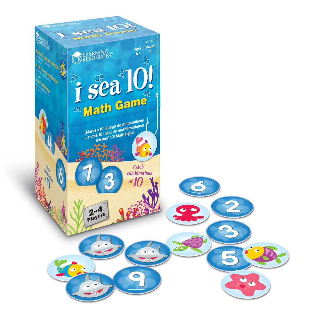 Amazon.com: Learning Resources I Sea 10! Game: Toys & Games
