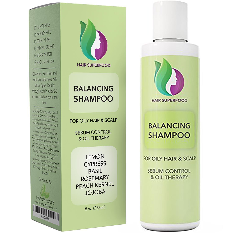 Vitamin Shampoo For Oily Hair & Scalp - Best Hair Shampoo in India