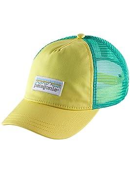 Patagonia Women s Pastel P-6 Label Layback Trucker Hat Yoke Yellow Size One  Size ( faab9f54b056