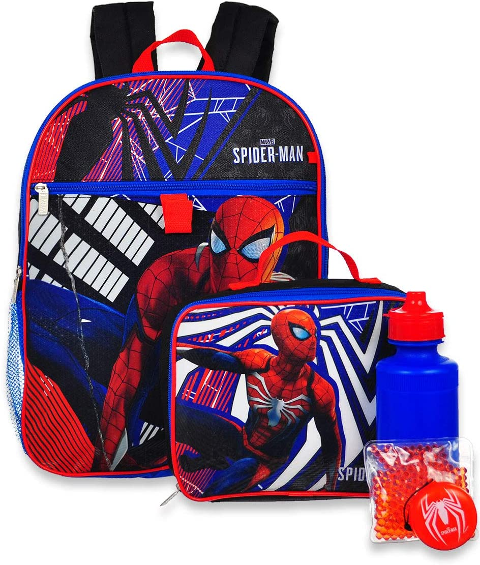 New Spider-man Multi-Color Mini School Backpack For Kid Boys