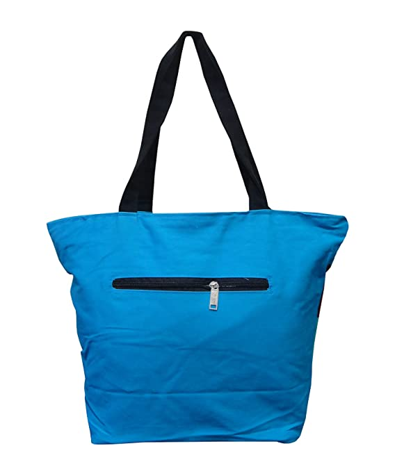 16c98bea41c4 Atorakushon® Cotton Carrying Case Women with small teddy Handbag Clutches  Ladies Shoulder Bag For Girls skyblue  Amazon.in  Shoes   Handbags