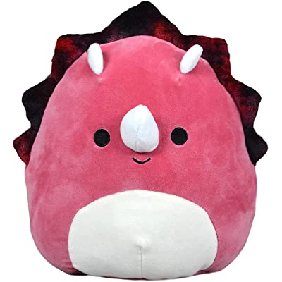 "Squishmallow Kellytoy Plush Toy (16"" Tristan The Triceratops): Toys & Games"