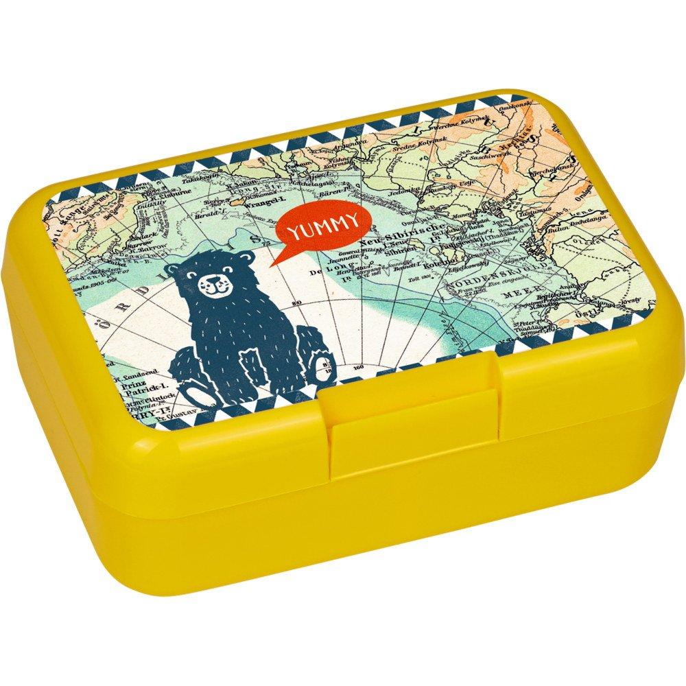 Die Spiegelburg 14578 , portavivande - lunch box - contenitore per alimenti - il miglior modo di portare la merenda a scuola - serie 'Reisezeit Kids' - ca 17 x 12 x 6,5 cm