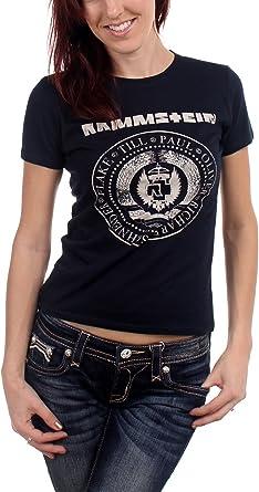 t shirt femme rammstein