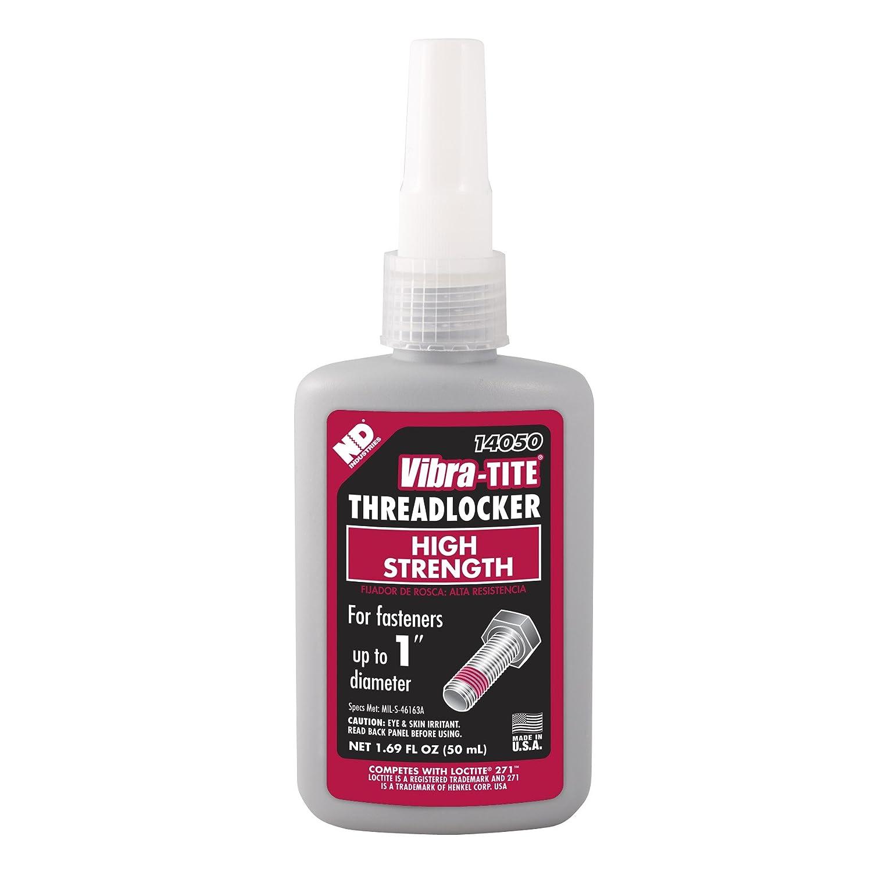 Vibra-TITE 140 Permanent High Strength Anaerobic Threadlocker, 1 liter Jug, Red ND Industries