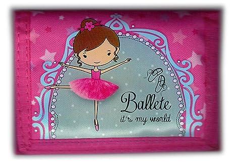 Ballet - Cartera de Monedero con Monedero Infantil
