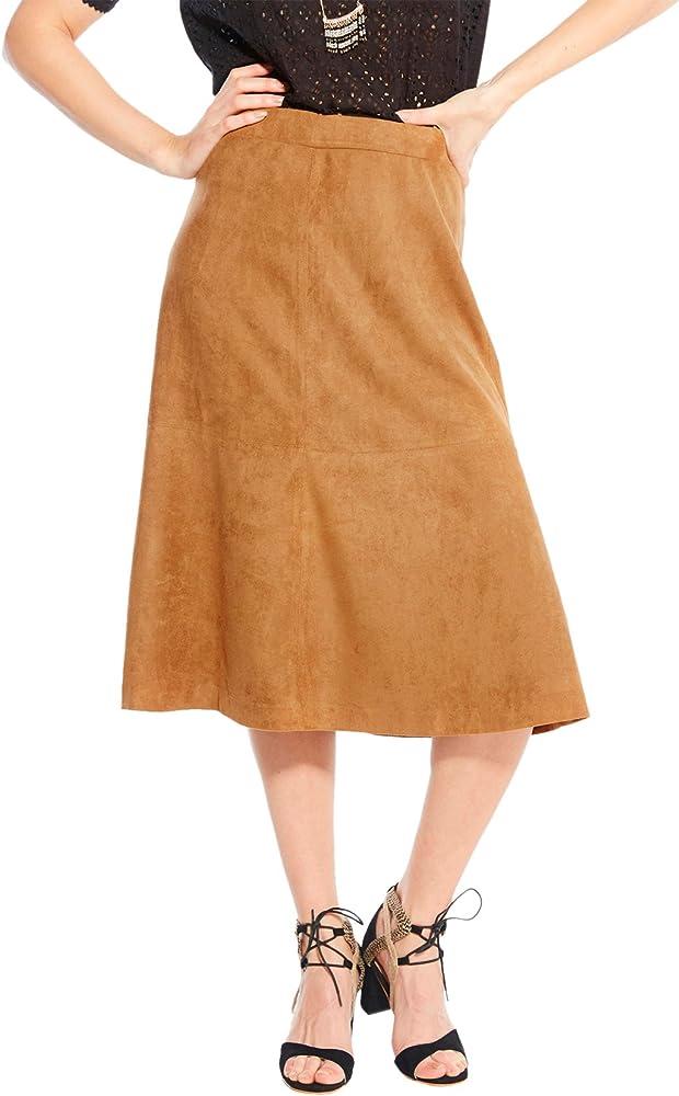 Balsamik - Falda Larga de Antelina - Mujer - Size : 50 - Colour ...
