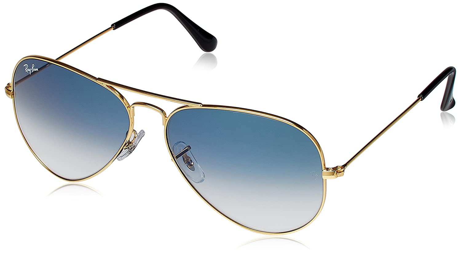 Ray ban sunglasses with price - Ray Ban Uv Protection Aviator Men S Sunglasses 0rb3025i001 3f58 58 Millimeters Crystal White Grad Blue Amazon In Clothing Accessories