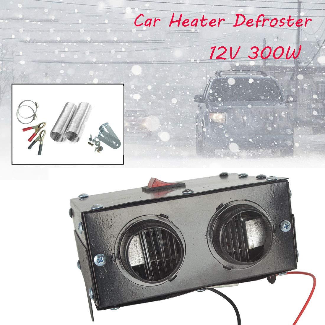AFUT 300W 12V Car Truck Auto Fan Heater Defroster Demister Heating Warmer Windscreen
