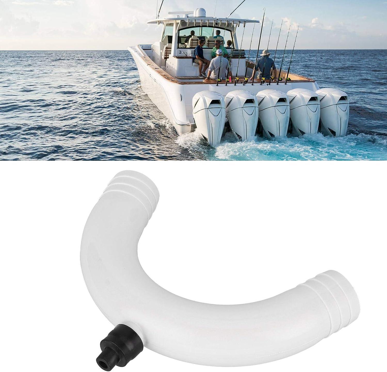 Marine Vented Loop 38mm ABS Siphon Breaker Air Duckbill Anti‑Siphon Valve Boat Plumbing Parts 38mm Vented Loops