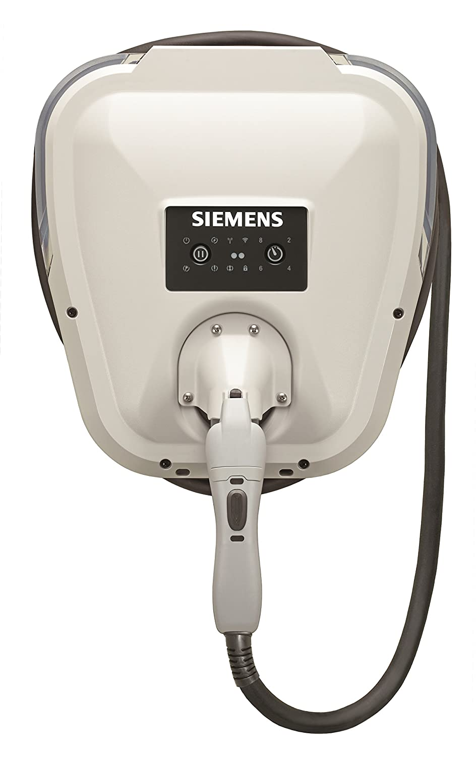 Siemens US2:VC30GRYHW VersiCharge Hard-Wired (VC30GRYHW) : Fast Charging, Easy Installation, Flexible Control, Award Winning, UL Listed, J1772 Compatibility, 14ft Cable, Hard-Wired