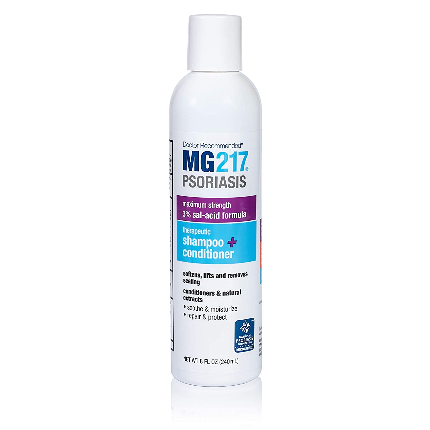 MG 217 Psoriasis best dry scalp treatment. Also great for treating seborrheic dermatitis and scalp psoriasis