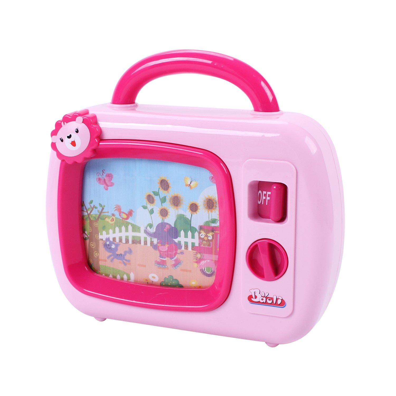 Baoli Baby Musical Sleepy Wind up Lullaby Tv Toy … (red) CHENGHAI BAOLI TOYS FACTORY