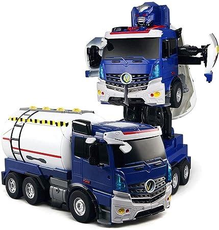 SSBH Control remoto Deformación Camión Cisterna robot RC ...