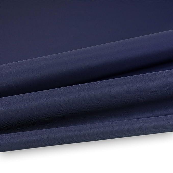 Premium Polyester 180cm in Schwarz B Wasserdicht, 1 lfm graphitschwarz