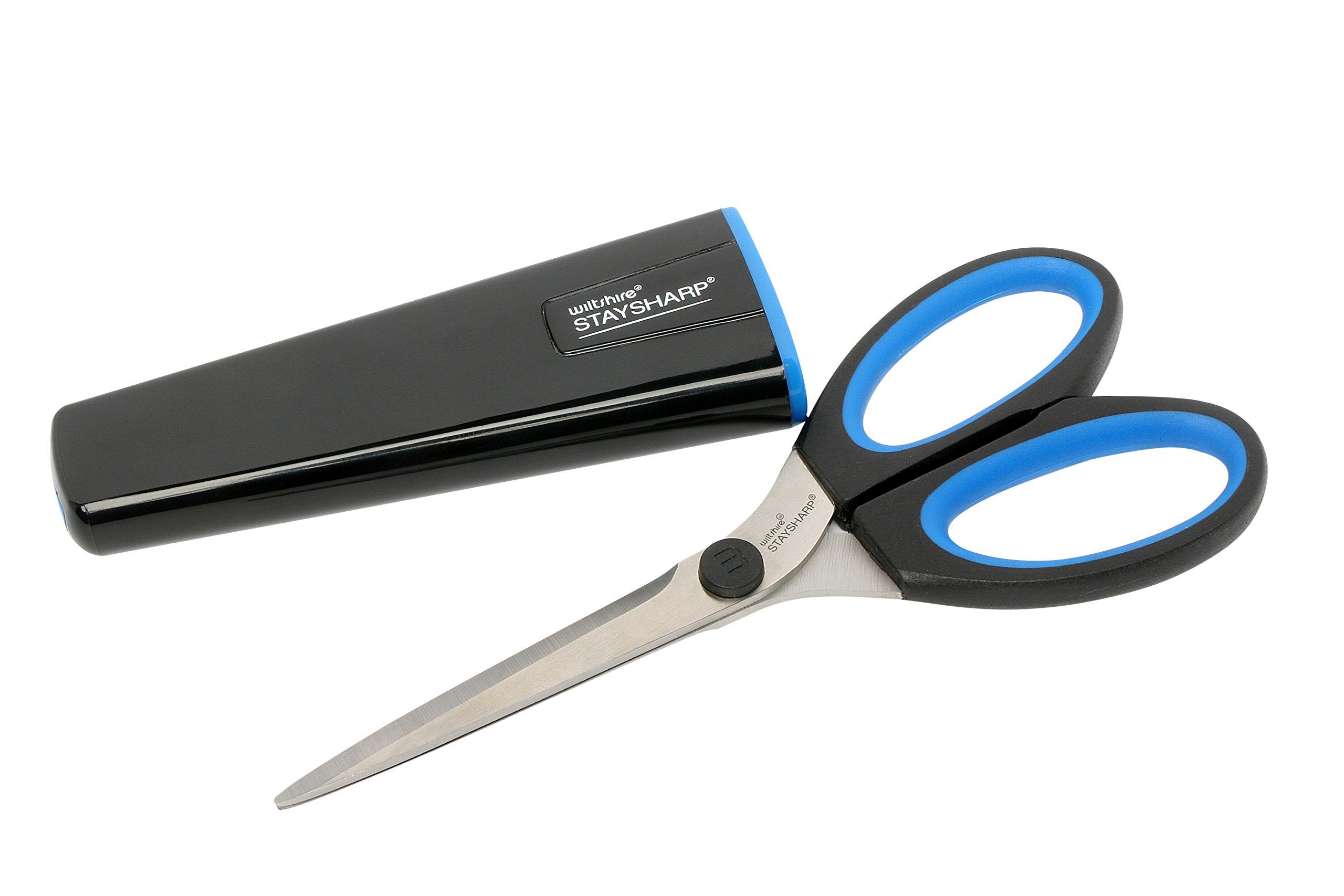 Wiltshire Kitchen Scissors with Built in Sharpener by Sonvera
