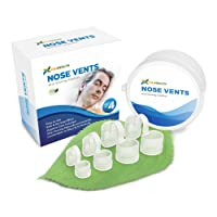 P&J Health - New Upgraded Nose Vents Snore Stopper, Anti Snoring Solution, Ease Breathing and Snoring