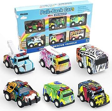 5 stücke Mini legierung kunststoff spielzeug rennwagen set für kinder