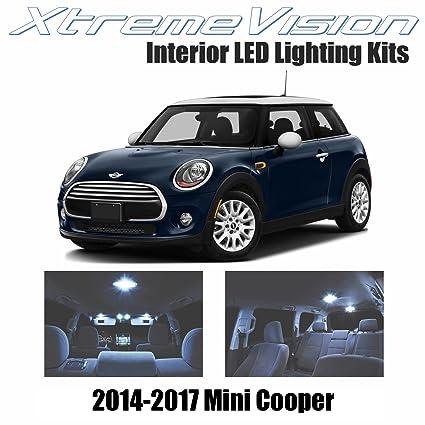 Amazoncom Xtremevision Mini Cooper 2014 2017 8 Pieces Cool White