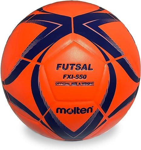 Molten – Balón de fútbol sala, color naranja tamaño 4: Amazon.es ...