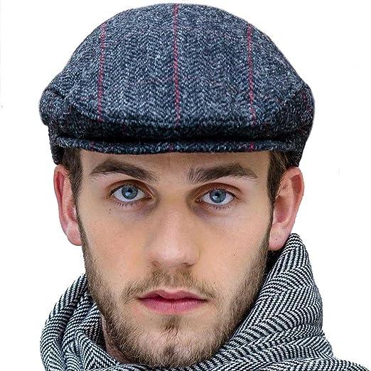 2946e5e245d Mucros Weavers Charcoal Gray Tweed Flat Cap