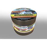 10 m x 150 mm isolatie aluminium bitumenband dakreparatie aluminium band reparatieband dak aluband zelfklevende kleur…