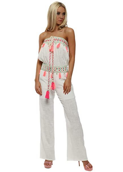 975aa452d1b Laurie   Joe Bandeau Jumpsuit  Amazon.co.uk  Clothing