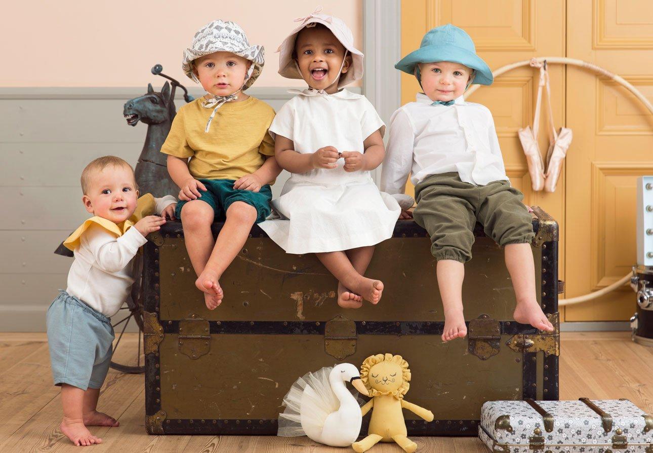 Elodie Details pour enfant Chapeau de soleil 2//à 3/ans Rose poudr/é