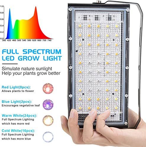 SEAMETAL LED Plant Grow Light Indoor Plant