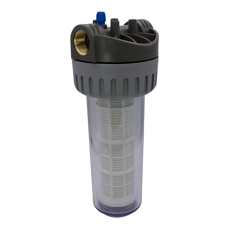AWM 2L Vorfilter 3000 l//h 4 bar Hauswasserwerk Wasserfilter Pumpenfilter