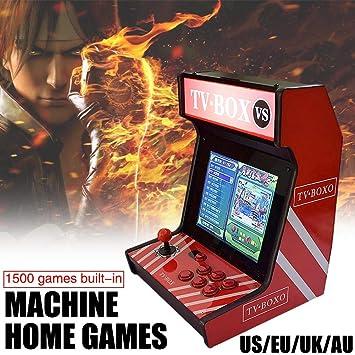 Mini máquina de juegos Arcade, 1500 juegos clásicos en una caja ...