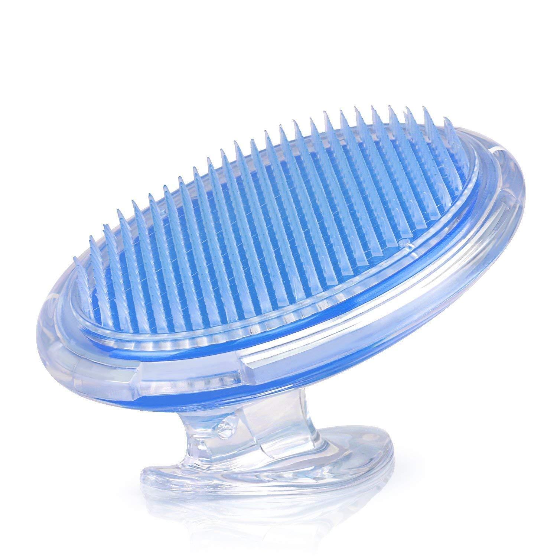 Cepillo exfoliante para el cuerpo para prevenir las rozaduras y los pelos en crecimiento para hombres y mujeres, cepillo de cerdas flexible para eliminar la irritación del afeitado CN