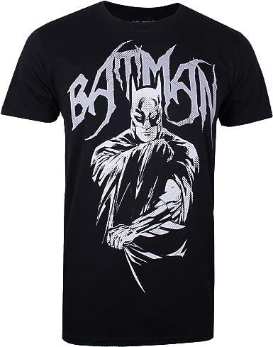 DC Comics Bat Metal Camiseta para Hombre: Amazon.es: Ropa y accesorios