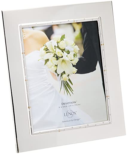 Amazon.com - Lenox Devotion Frame for 8 by 10-Inch Photo - Single Frames