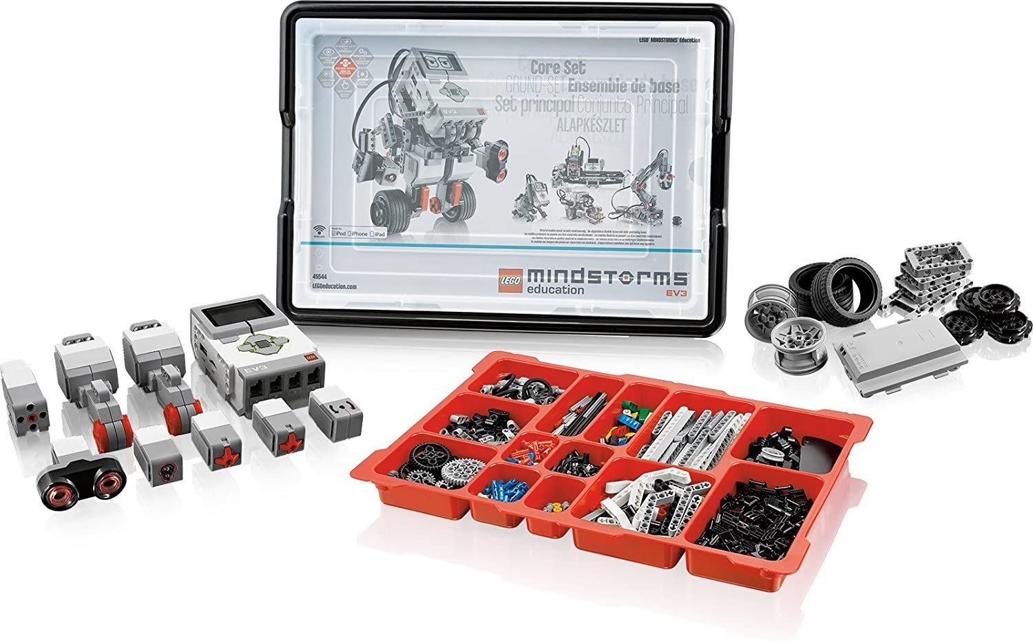 Amazon.com: LEGO Mindstorm Ev3 Core Set 45544 Ev3 Expansion Set 45560-LEGO  Transformer/Charger 10VDC 45517 World-Wide Version(45517 Will Pack Inside  45560 or 45544 Carton Box): Toys & Games